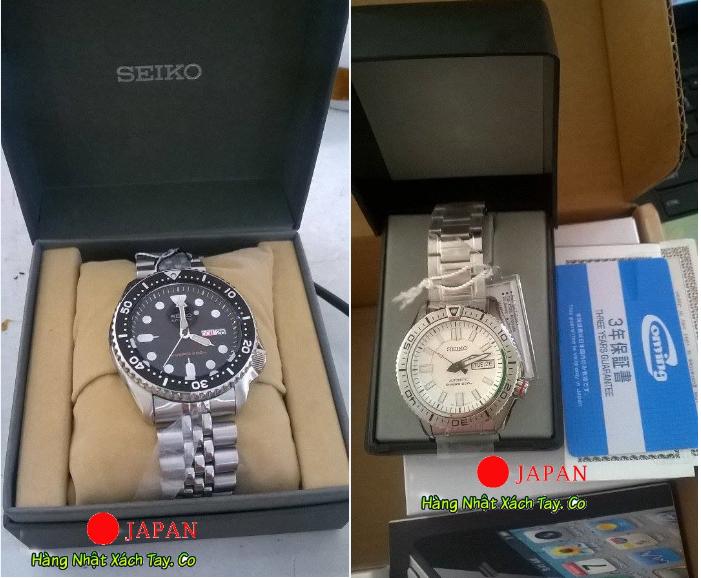 Order đồng hồ Nhật Bản xách tay