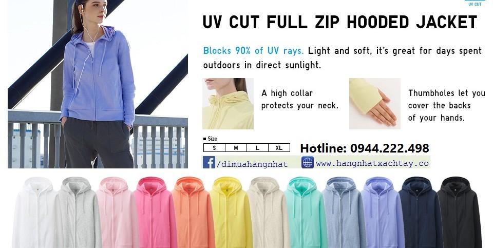 áo chống nắng UV uniqlo nhật bản