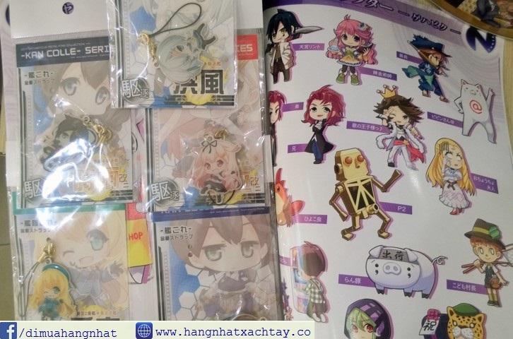 phụ kiện móc khóa manga