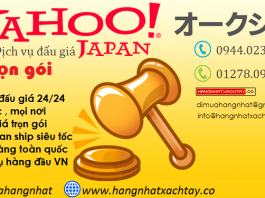 đấu giá yahoo auctions nhật bản
