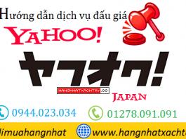 hướng dẫn đấu giá yahoo auctions nhật bản